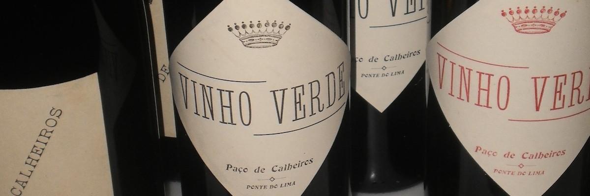 Wine at Paço de Calheiros