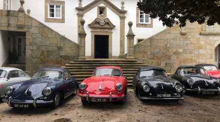 Historic car tour at Paço de Calheiros
